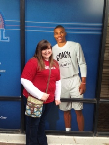 Me and Not Russell Westbrook