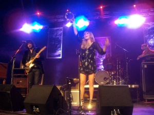 Grace Potter & the Nocturnals, 2011 in OKC.