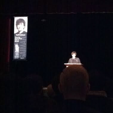 It's Neil Gaiman--I promise!