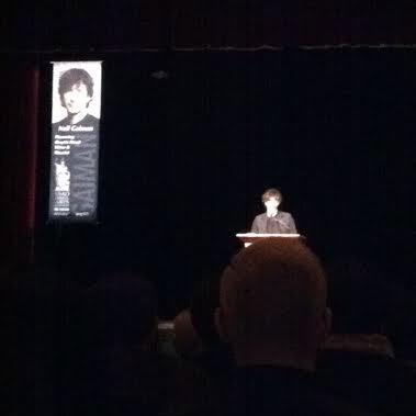 It's Neil Gaiman--I promise!