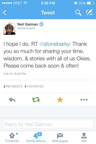 I'm @stonebarky, in case you were wondering.
