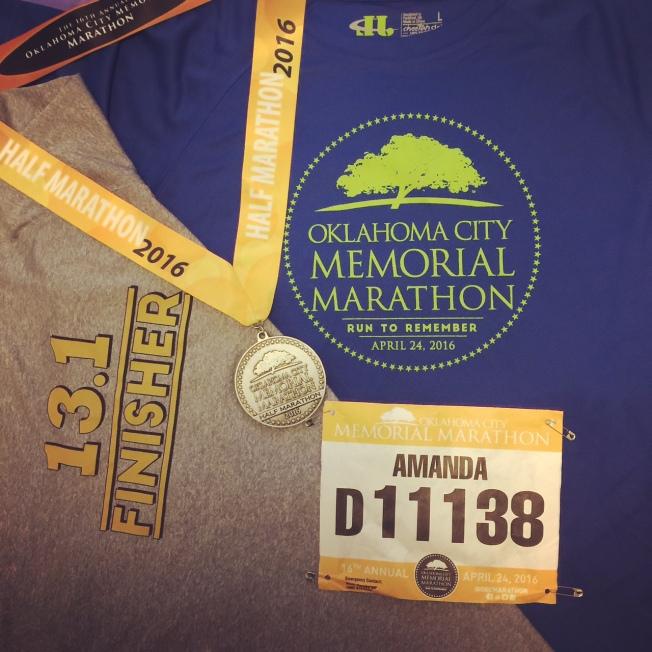 OKC Memorial Marathon merchandise